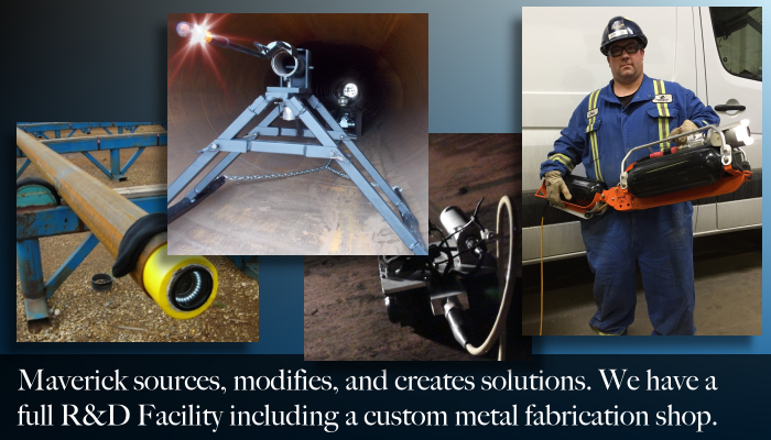 From Edmonton Alberta, Maverick's inspection services include research and development of custom solutions.