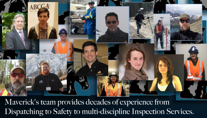 From Edmonton Alberta, Maverick's Inspection Services Team provides decades of experience.