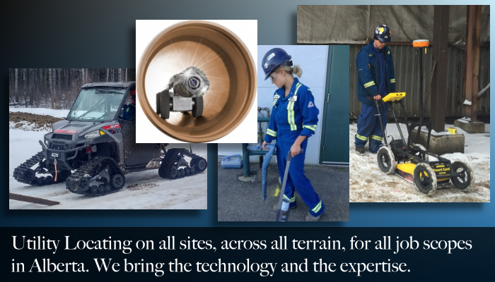 Maverick's inspection services include utility locates in Edmonton, St Albert, Fort Saskatchewan, Fort McMurray, Sherwood Park, Lloydminster, and more.