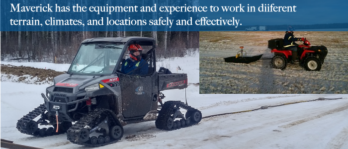 Ground-penetrating Radar (GPR) can be performed in many locations, requiring specialised vehicles and equipment.
