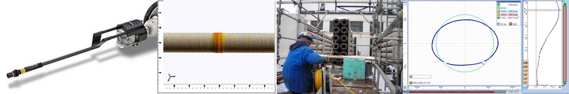 Laser Pipe Profiling Maverick Inspection