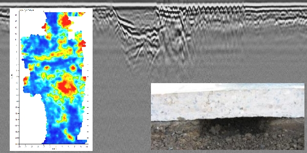 Subsurface voiding and other conditions with Ground-penetrating Radar, Edmonton, Fort McMurray, Red Deer, Grande Prairie, Lloydminster.