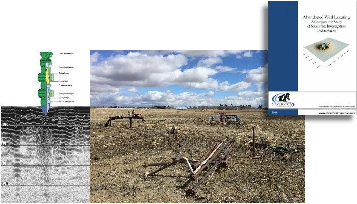 Maverick locates abandoned wells with technologies including Ground Penetrating Radar (GPR).