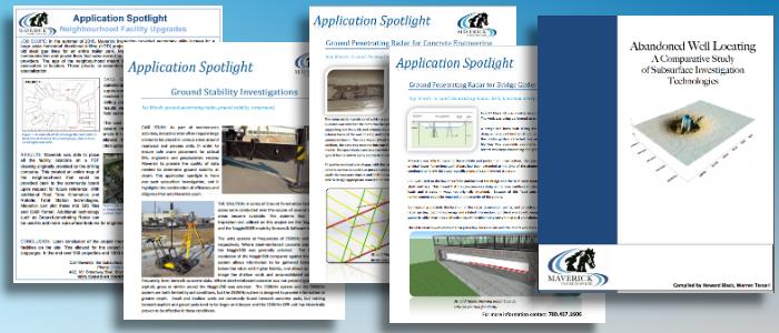 Case studies and application spotlights by technicians from Edmonton's Maverick Inspection.