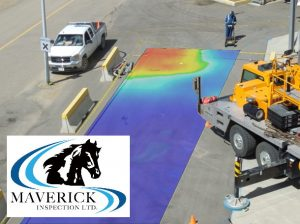 Crane scans to provide data for engineering decisions with Ground Penetrating Radar (GPR).