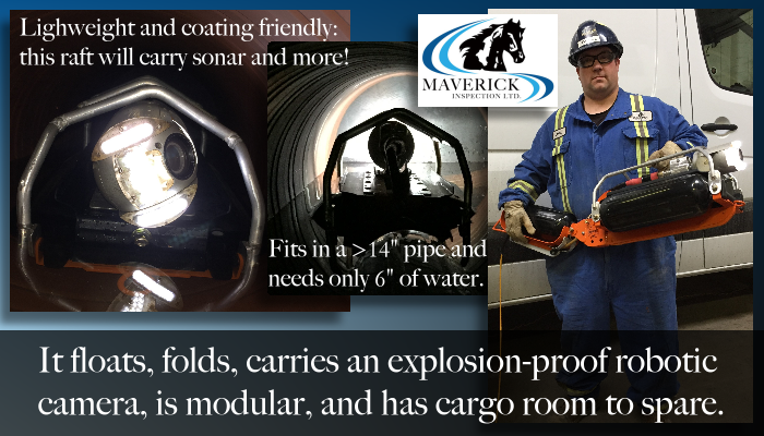 Maverick creates custom inspection solutions from our R&D facility in Edmonton Alberta.