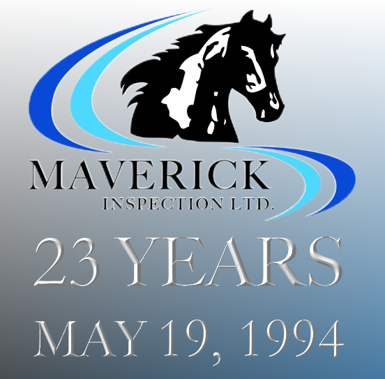 Maverick Inspection has been providing inspection technology to centres such as Edmonton, Fort McMurray, Fort Saskatchewan, Lloydminster, Red Deer, Calgary, Joffre and more for 22 years.