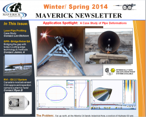 Newsletter, NDT, GPR, Remote Video, Video Inspections