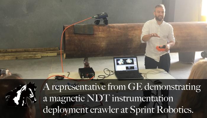 Maverick Inspection attended the 2017 Sprint Robotics seminar.