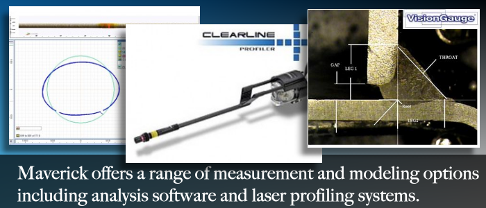 Alberta video inspection camera services with laser measurement and software analysis.