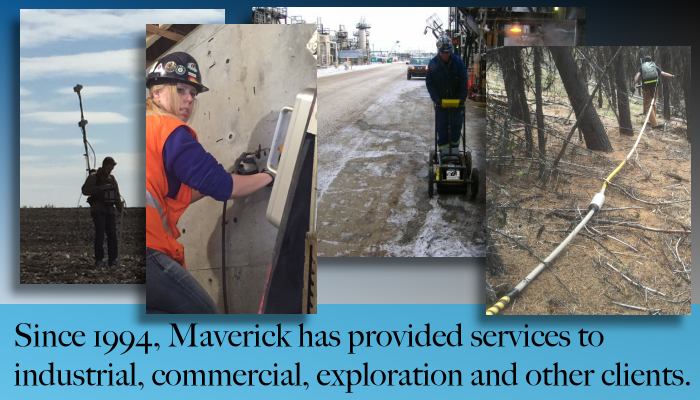 Edmonton Alberta's Maverick has provided inspection services to Western Canada since 1994.