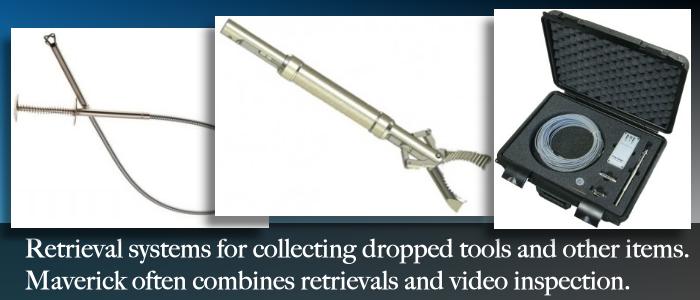 Alberta retrieval systems for remote camera video inspections.
