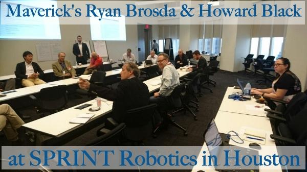 Sprint Robotics Seminar in Houston Texas.