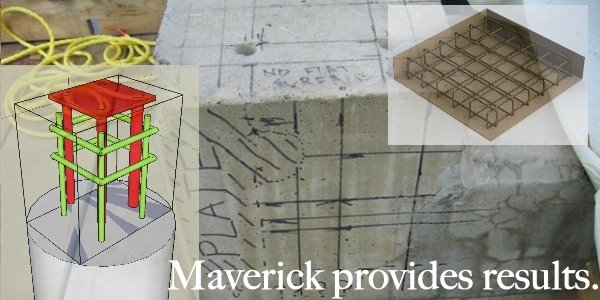 Maverick provides the best concrete radar scan results because experience counts.