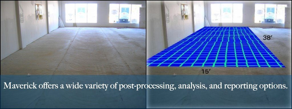 Concrete scan. Maverick provides wall, floor, and other scans out of Edmonton Alberta.