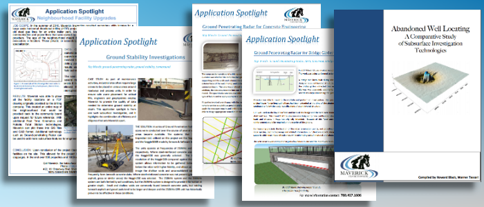 Case studies and application spotlights by technicians from Edmonton's Maverick Inspection.