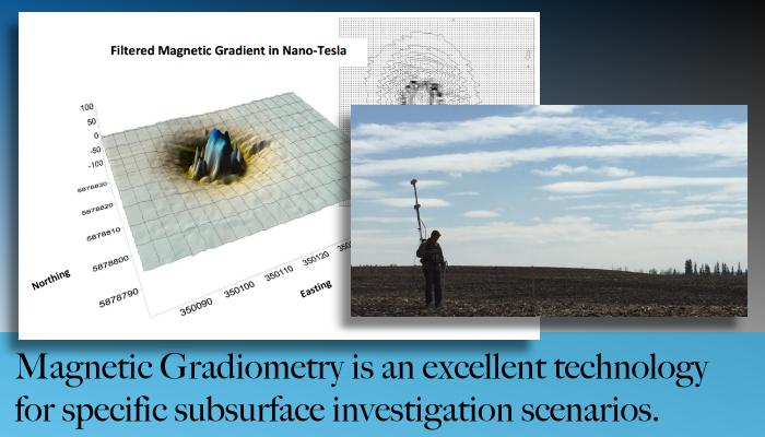 From Edmonton Alberta Maverick provides remote sensing for subsurface investigations.
