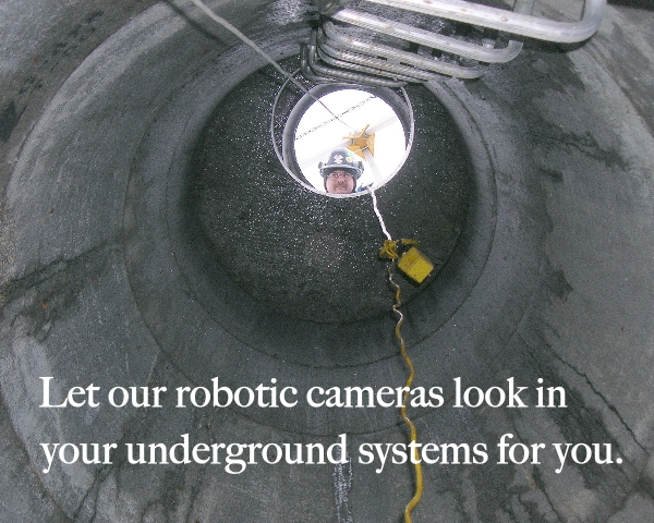Maverick uses robotic crawlers on drainage systems from Edmonton to Calgary, Fort McMurray, Lloydminster, Bonnyville, Red Deer and more.