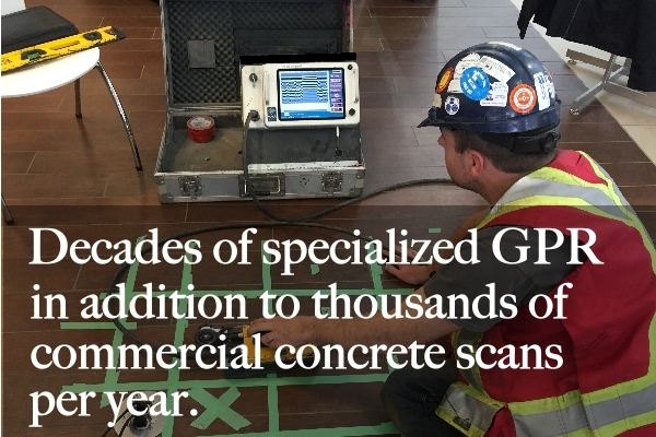 GPR Concrete Scanning - Maverick Inspection