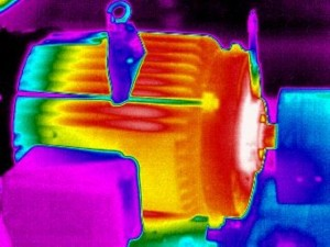 An understanding of heat transfer and the ability to obtain a good thermal focus with an infrared camera allows a thermographer to clearly identify a failing component, such as this motor inboard bearing
