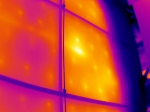 Furnace refractory breaks down over time, especially along the joints of the pieces of the insulation. Pre-and-post shutdown scans can determine the extent of repairs required and the effectiveness of those repairs