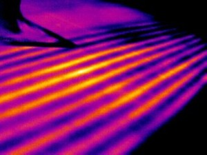 Leaks in the passes of in-floor refrigeration systems can be detected using infrared thermography, but this technique requires a great deal of care and the proper procedure to be effective