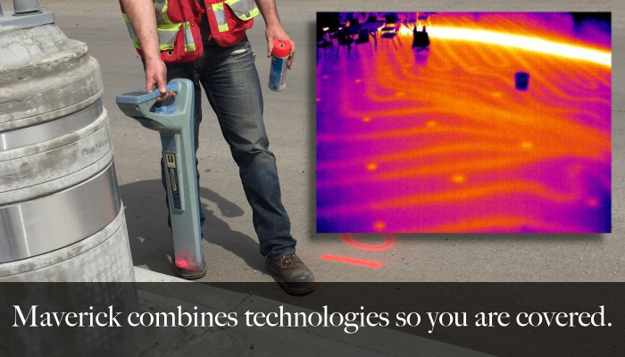 Maverick provides concrete scanning, concrete scans out of Edmonton Alberta.