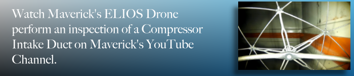 Link to industrial drone inspection of compressor intake on YouTube.