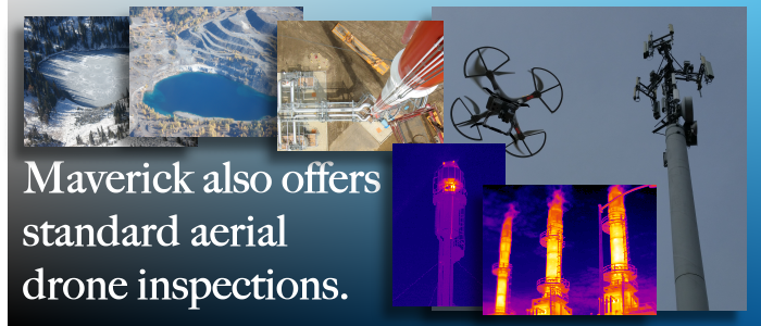From Edmonton, Alberta, Maverick performs commercial and industrial drone inspection services.