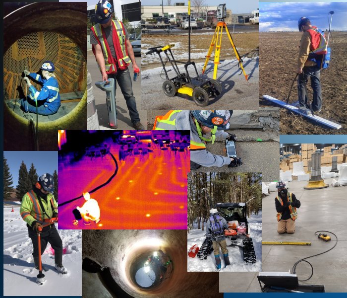 From Edmonton Alberta, Maverick's Inspection Services Team provides decades of experience.